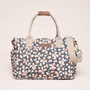 Brakeburn - Petals Day Bag - Navy - 6098