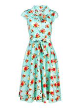 Load image into Gallery viewer, Circus – Vintage Dress - Mint - CD483