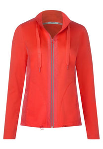 Cecil – Sweatjacket –  Orange - 253034