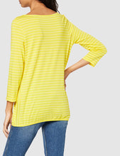 Load image into Gallery viewer, Cecil – Basic T-Shirt –  Lemon - 314524