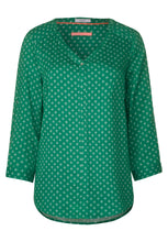 Load image into Gallery viewer, Cecil – Blouse –  Green - 341890