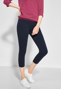 Cecil – Leggings –  Navy - 372471