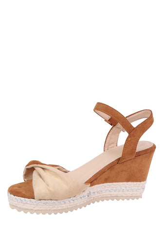 Forever Folie Wedge Open Foot Shoe BL298