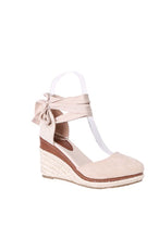 Load image into Gallery viewer, Forever Folie – Wedge Sandal – FL33 – Beige