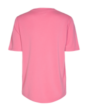 Load image into Gallery viewer, Freequent – V-Neck Short Sleeved Top - Pink - YR-SS-BL