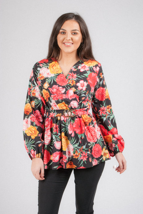 Printed Blouse 11504