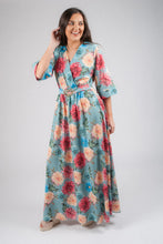 Load image into Gallery viewer, 1/2 Sleeved Flower Dress 11515