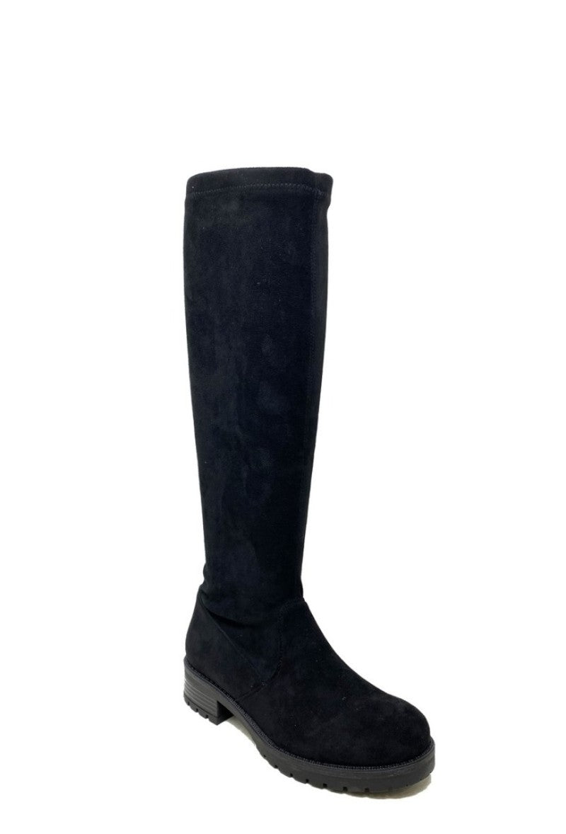 Knee High Boot - Black - HQ232