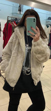 Load image into Gallery viewer, DA Fashion - Short Fur Hooded Jacket - Beige - XY76