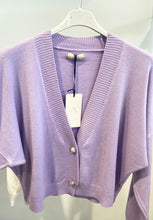 Load image into Gallery viewer, Lipstick – Cardigan - Purple - IFC1033