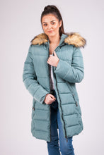 Load image into Gallery viewer, Fur Hooded Coat - 9901