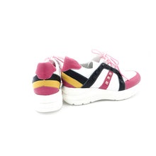 Load image into Gallery viewer, Jose Saenz - Stripe Wedge Runner - Fuchsia - 3082