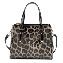 Load image into Gallery viewer, DC - Leopard Print Handbag - Black - L4802LP