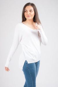 Soft V-Neck Knit 1707