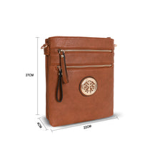 Load image into Gallery viewer, LYDC – Cross Body Bag – Tan – 1055S1