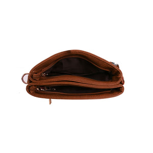 LYDC – Cross Body Bag – Tan – 1055S1