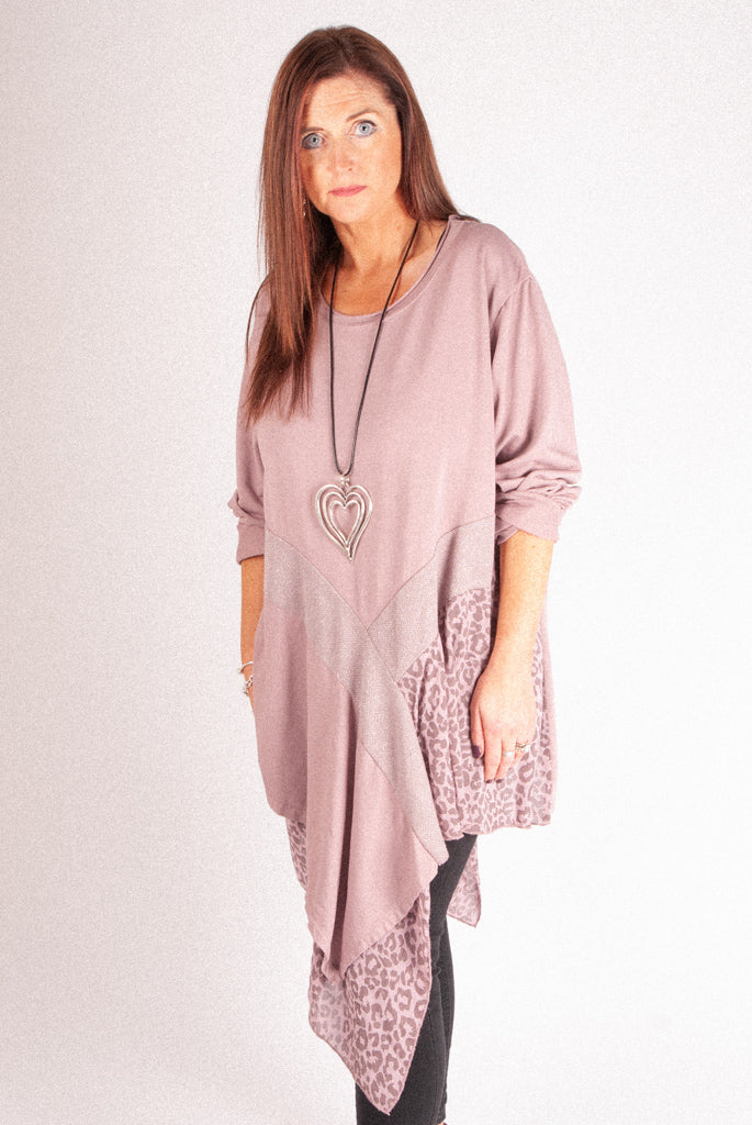M1 Asymetric Tunic - Rose - 1892
