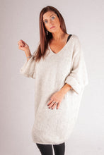 Load image into Gallery viewer, Iris - Long Knit - Cream - RS6820