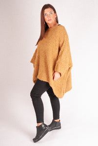 Iris - Large Knit - Camel - 8065