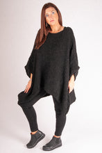 Load image into Gallery viewer, Iris - Large Knit - Black - 8065
