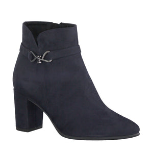 Marco Tozzi Heeled Ankle Boot - 25349W