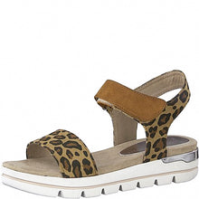 Load image into Gallery viewer, Marco Tozzi - Leopard Print Sandal 28535