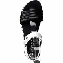 Load image into Gallery viewer, Marco Tozzi - Black White Sandal 28556