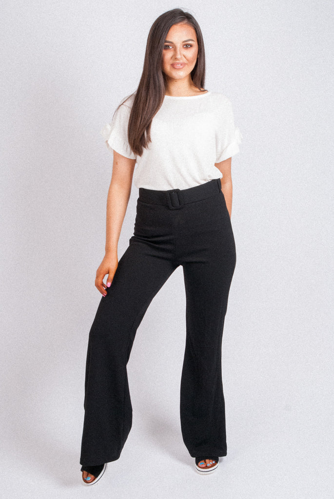 Flare Trousers - 12155