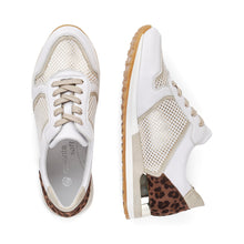 Load image into Gallery viewer, Remonte White Leopard Runner R2512