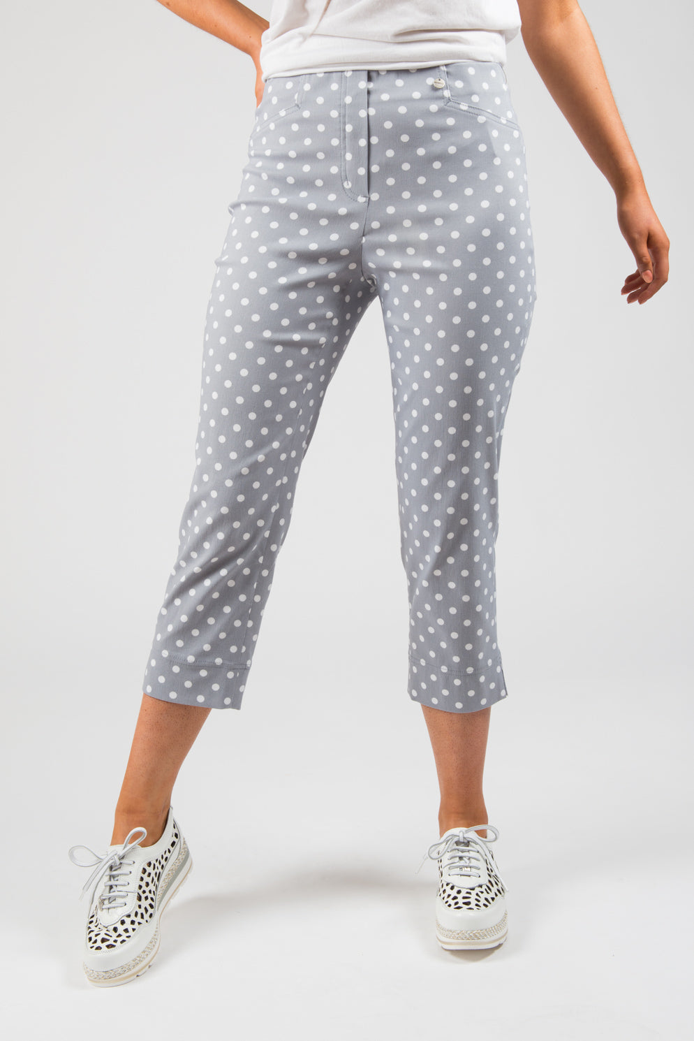 Spot Crop Trousers