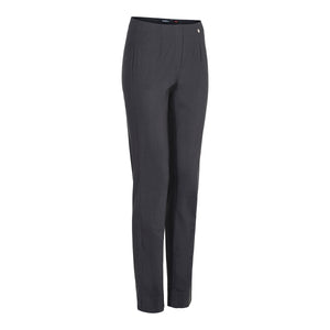 Robell Plain Trouser Marie - Charcoal Grey - 51412w