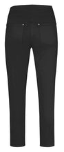 Load image into Gallery viewer, Robell Nena Trousers With Zip Ends - 7/8 Black - 52490W0