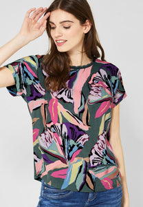 Flower Blouse Wavy