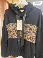 Load image into Gallery viewer, IRIS – Leopard Print Sweater - Black - G1312