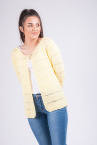 One Button Cardigan 7018