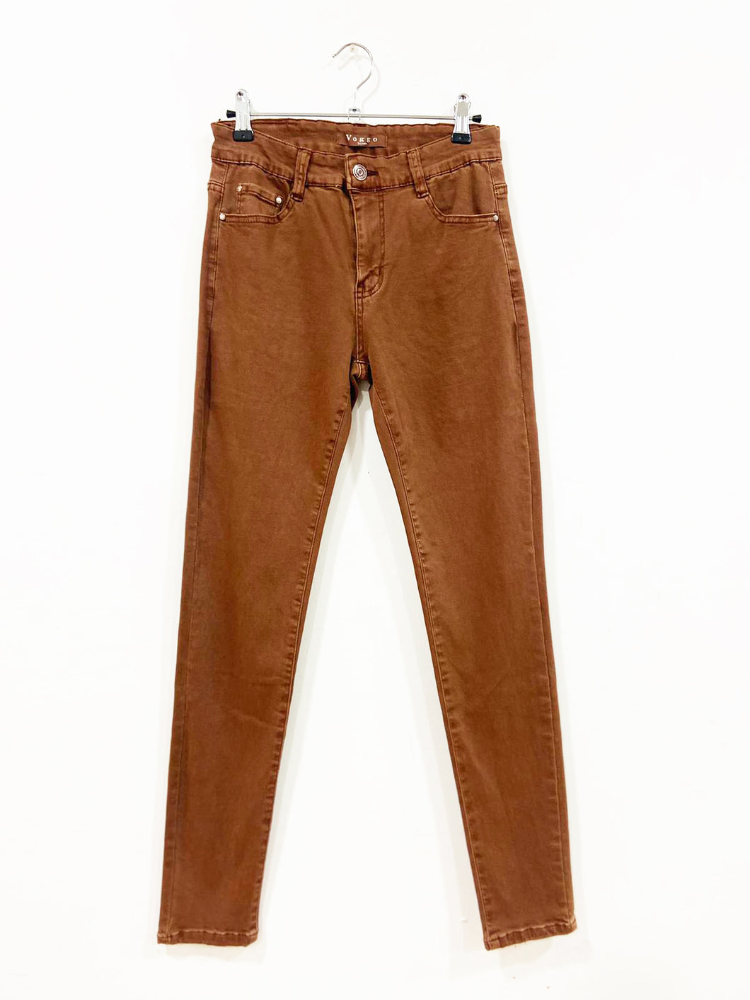 Carole – Coloured Jeans - Camel - V1120