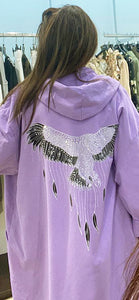 Miss Style – Wings Jacket - Lilac - 80053