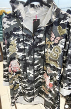 Load image into Gallery viewer, M1 - Printed Jacket - Urban Grey Floral - 1865