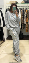 Load image into Gallery viewer, IRIS – Tracksuit - Grey - G1813TS
