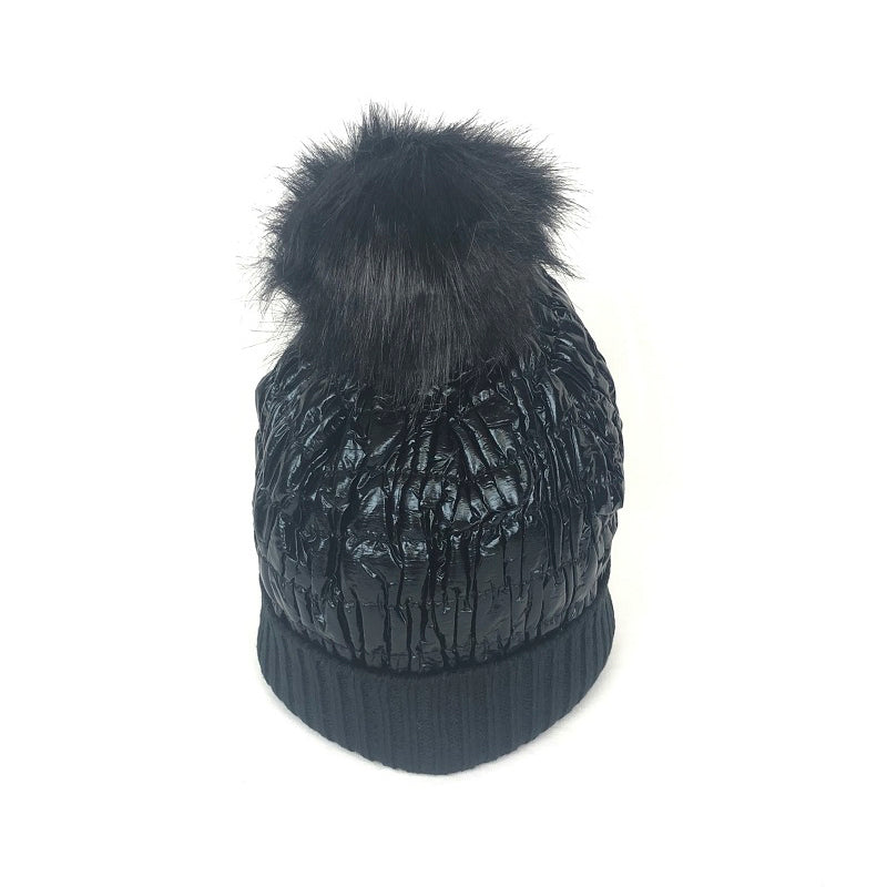 Lidy Bonnet Hat - Black - 60431