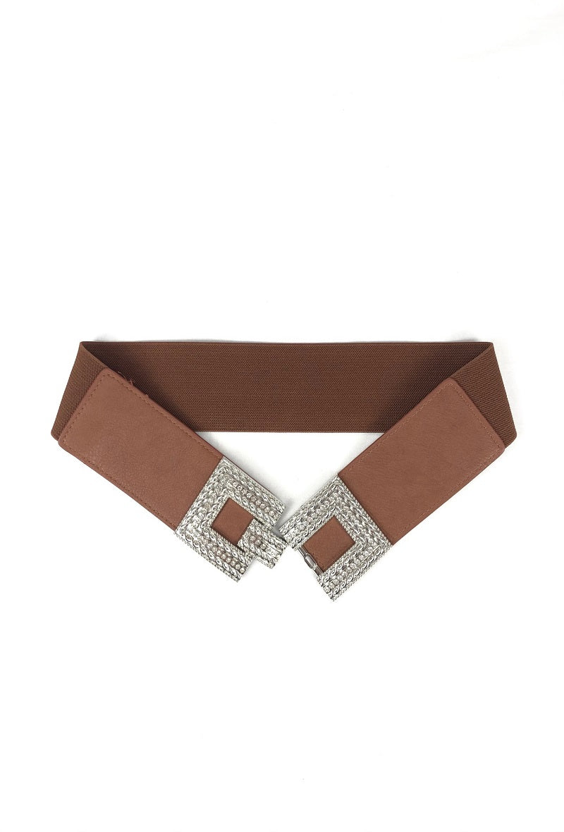 Lidy Stretch Belt - Camel - 81614