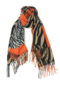 Lidy Scarf - Orange - 91179