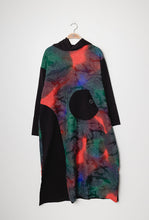 Load image into Gallery viewer, Lipstick – Long Hooded Dress - Green - 008