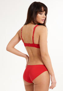 DAILY High Waist Brief 1400B-1 05 Red