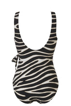Afbeelding in Gallery-weergave laden, V-neck swimsuit 20207 2193 zebra
