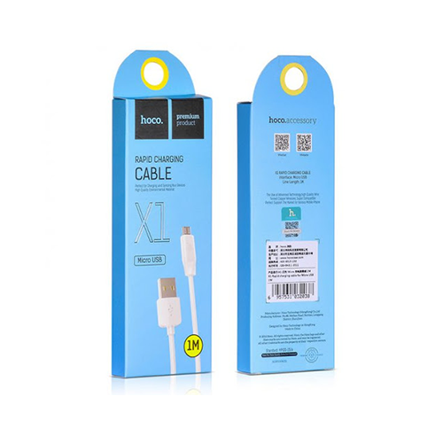 Cable Micro USB Hoco X1 (Android)