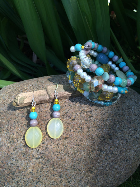 Yellow and Teal Seaside Dreams Set