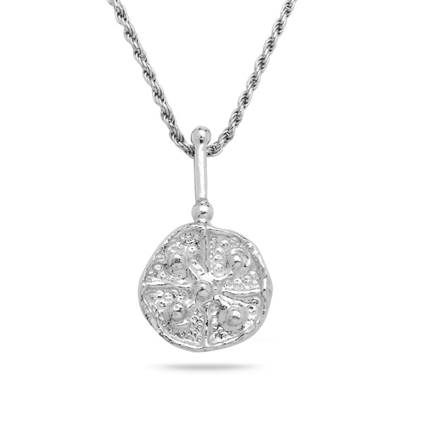925 silver Pendant & rope chain 18 inch
