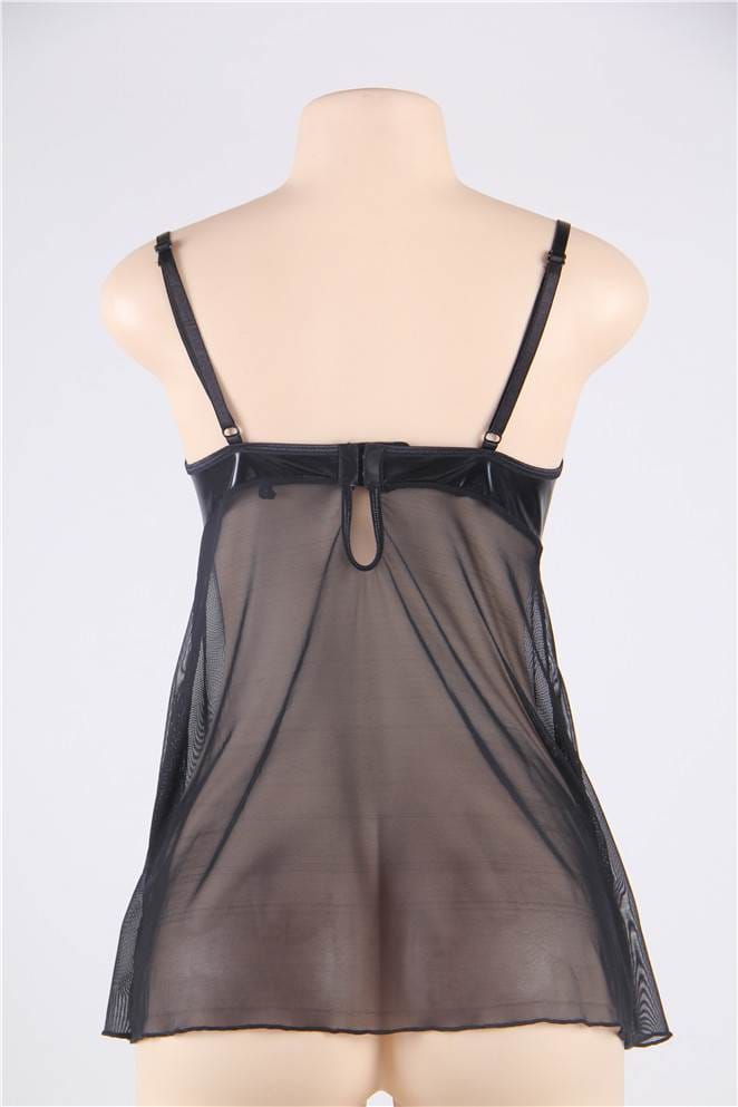 Darque Sexy Babydoll And G-string