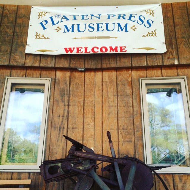 entrance to the Platen Press Museum